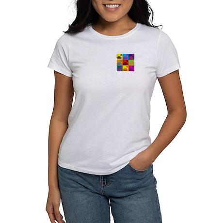 Curling Pop Art Women's T-Shirt