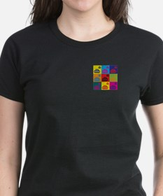 Curling Pop Art Tee