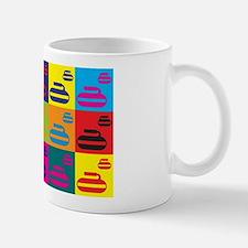 Curling Pop Art Mug