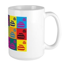 Curling Pop Art Mug
