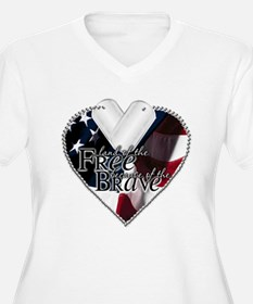 Because of the Brave T-Shirt