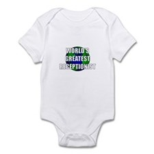 World's Greatest Receptionist Infant Bodysuit