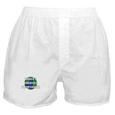 World's Greatest Receptionist Boxer Shorts
