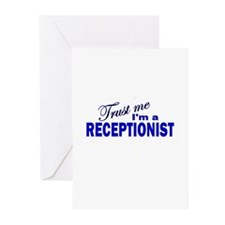 Trust Me I'm a Receptionist Greeting Cards (Pk of