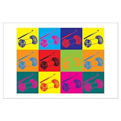 Crocheting Pop Art Posters