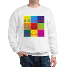 Criminal Justice Pop Art Sweater