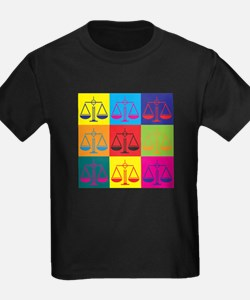Criminal Justice Pop Art T