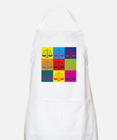 Criminal Justice Pop Art BBQ Apron