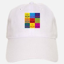 Criminal Justice Pop Art Baseball Baseball Cap