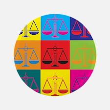 "Criminal Justice Pop Art 3.5"" Button (100 pack)"