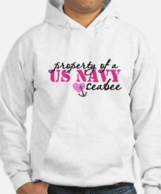 Property of a US NAVY Hoodie