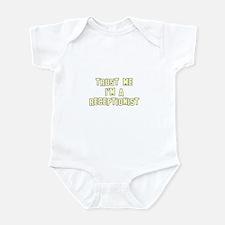 Trust Me I'm a Receptionist Infant Bodysuit