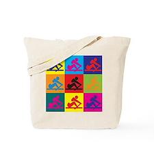 Crewing Pop Art Tote Bag
