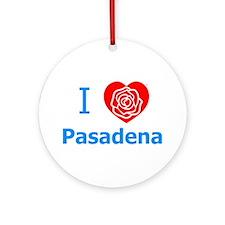 Cute Pasadena california Ornament (Round)