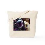 Fiber Rose Tote Bag