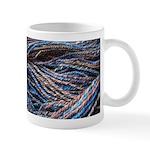 Blue Handspun Mug
