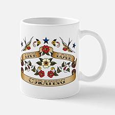 Live Love Curating Mug