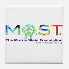 MoSt in Colors Tile Coaster