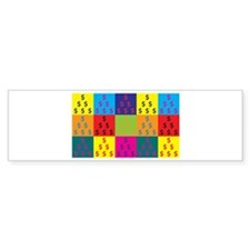 Cost Estimating Pop Art Bumper Bumper Sticker