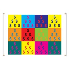 Cost Estimating Pop Art Banner