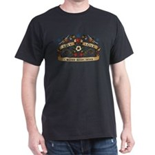 Live Love Cross-Stitching T-Shirt