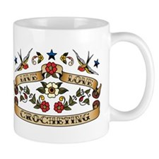Live Love Crocheting Mug