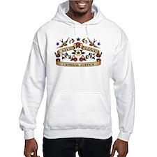 Live Love Criminal Justice Hoodie Sweatshirt