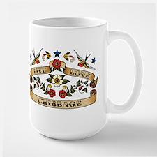 Live Love Cribbage Mug