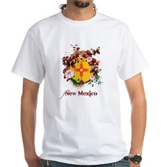 Butterfly New Mexico White T-Shirt