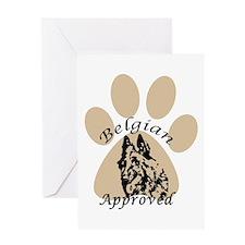 Belgian Sheepdog, Belgian Ter Greeting Card