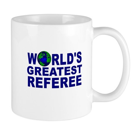 World's Greatest Referee Mug