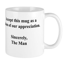 TheGrayWall.com Appreciation Mug