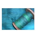 Blue Spinning Postcards (Package of 8)