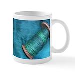 Blue Spinning Mug