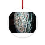 Beachy Yarn Ornament (Round)