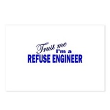 Trust Me I'm a Refuse Enginee Postcards (Package o