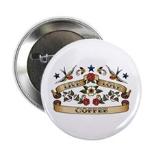 "Live Love Coffee 2.25"" Button"