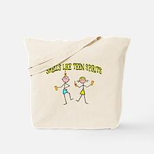 Teen Spirits Tote Bag