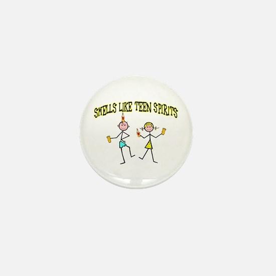 Teen Spirits Mini Button
