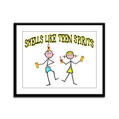 Teen Spirits Framed Panel Print