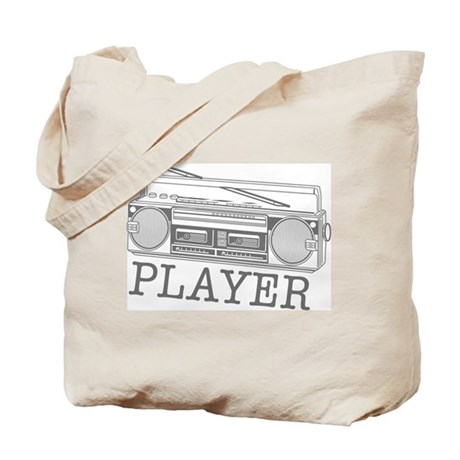Player - radio Tote Bag
