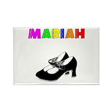 Customized Mariah Dance Rectangle Magnet