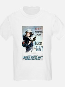 I Wish Navy T-Shirt