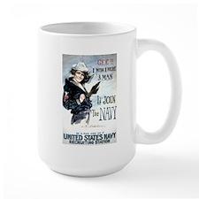 I Wish Navy Mug