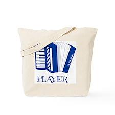 Player - accordian Tote Bag