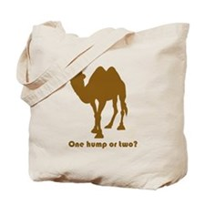 """One Hump or Two?"" Tote Bag"