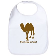 """One Hump or Two?"" Bib"