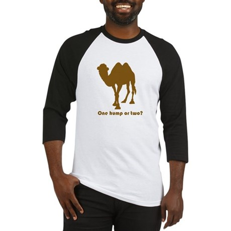 """One Hump or Two?"" Baseball Jersey"