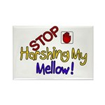 Harshing my Mellow Rectangle Magnet (100 pack)