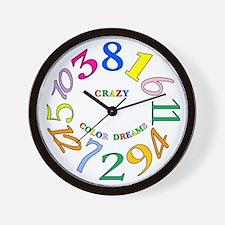 Cute Crazy hours Wall Clock